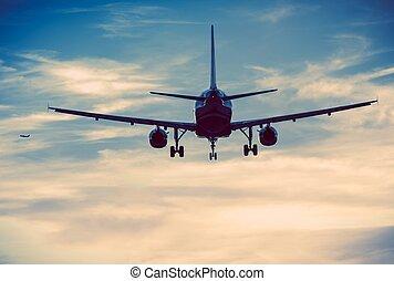 comercial, aviones