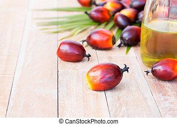 comercial, cultivation., palma de aceite