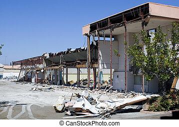 comercial, demolición
