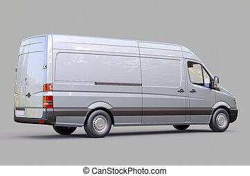 comercial, furgoneta