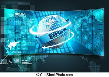 comercio electrónico, concepto