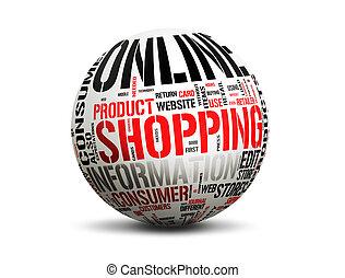comercio electrónico, en línea