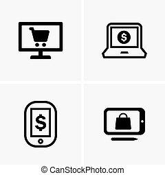comercio electrónico, señales