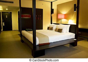 comfortabel, slaapkamer