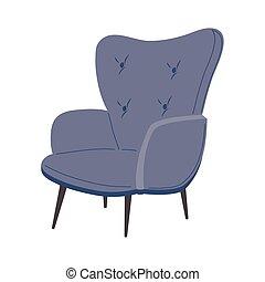 blue chair design