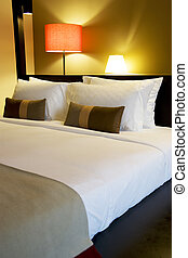 Comfortable Bed - Image of a comfortable looking bed.