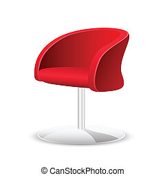 Comfortable Chair - illustration of comfortable trendy chair...
