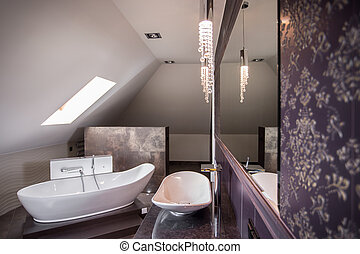 Comfortable freestanding bath the best for relax