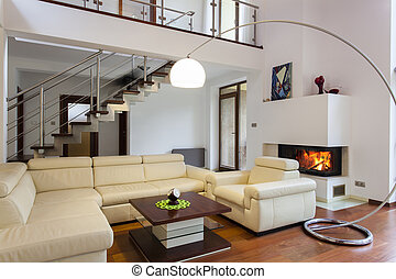 Comfortable living room - Big and comfortable living room ...