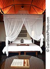 Comfortable room in luxury hotel