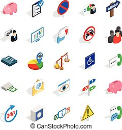 Comfy icons set, isometric style - Comfy icons set....