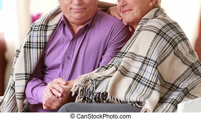 Comfy weekend - Seniors spending a comfy weekend together