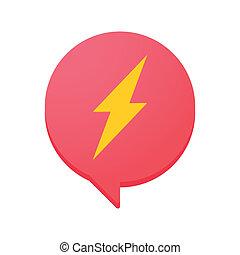 Comic balloon icon