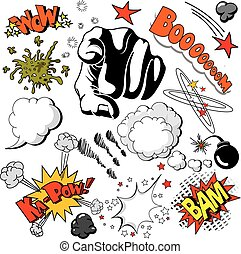 Comic Book Design Elements