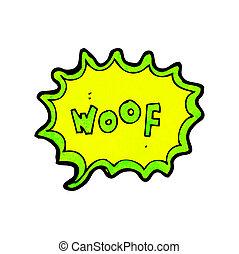 comic book dog bark
