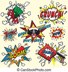 Comic Book Explosions and Thoughts - Great selection of...