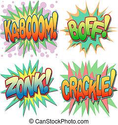 Comic Book Illustrations