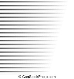 Comic book speed lines vector background.