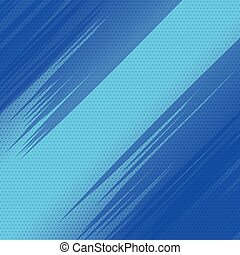comic book style empty blue background design