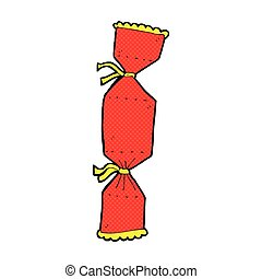 comic cartoon christmas cracker