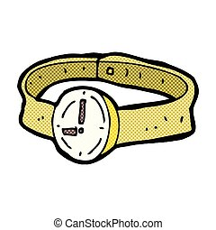 comic cartoon wrist watch