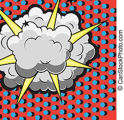 Comic Explosion Design