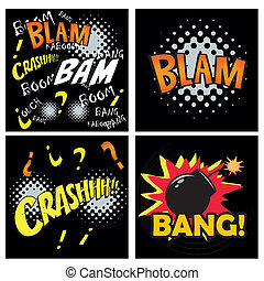 comic expressions