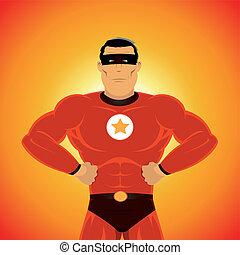 comic-like, wspaniały-bohater