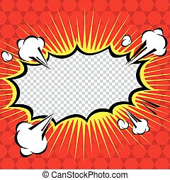 Comic Speech Bubble, Cartoon