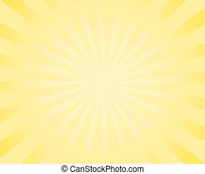 comic sunburst background