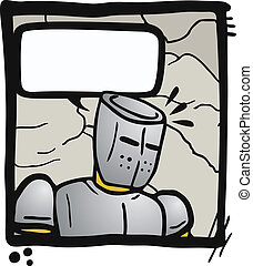Comic talking