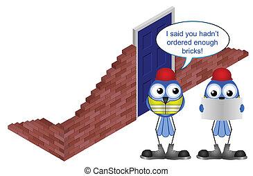 brick order shortfall