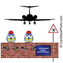 new airport runway