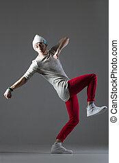 Comical dancer guy