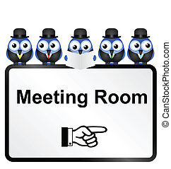 Meeting Room Sign