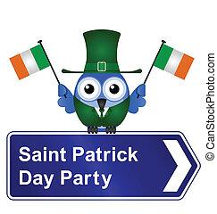 Saint Patrick Day party - Comical Saint Patrick Day party...