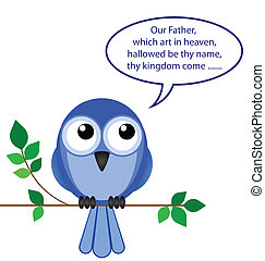bird of pray - Comical take on a bird of pray
