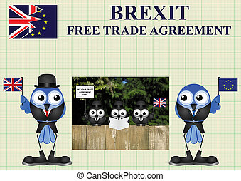 Comical United Kingdom Trade Delegation