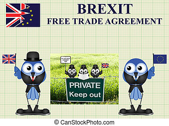 Comical United Kingdom Trade Delegation