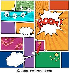 Comics book Template