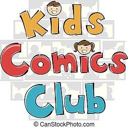Comics Club Illustration