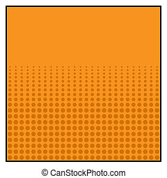 Comics Color Halftone  Background graphic effects. Vector