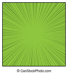 Comics Color Radial Speed Lines graphic effects. Vector...