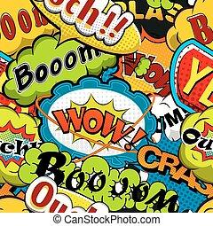 Comics Speech bubbles