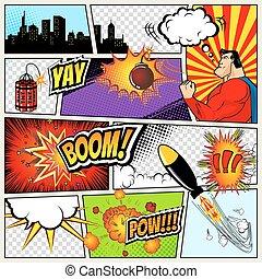 Comics Template