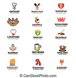 comida bebidas, símbolo