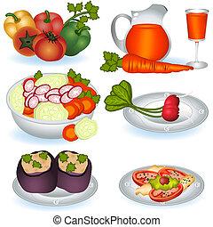 comida vegetariana, 1