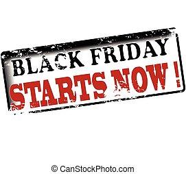comienzos, ahora, negro, viernes