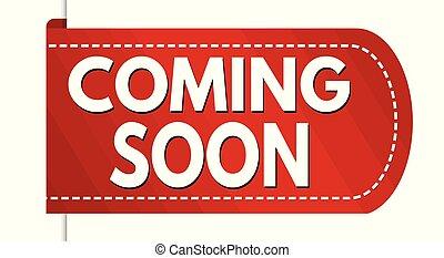 Coming soon banner design banner design