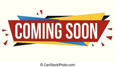 Coming soon banner design